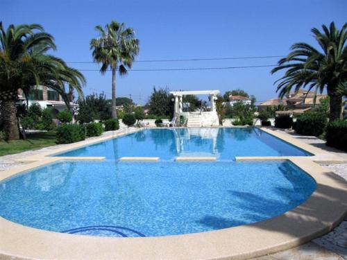 Apartment with terrace, near the beach in Denia, Дения
