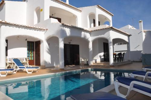 holidays algarve vacations Albufeira Villa Palma