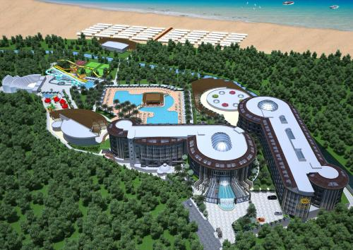 Kizilagac Sunmelia Beach Resort Hotel & Spa map
