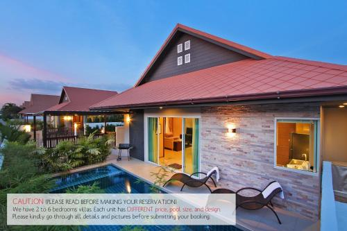 The Ville Jomtien : Pool Villa - pattaya-south -
