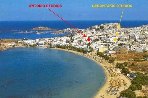Antonio Studios in naxos - 0 star hotel