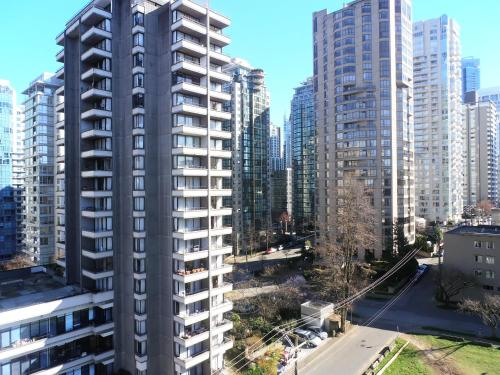 Riviera Hotel on Robson Downtown Vancouver Photo