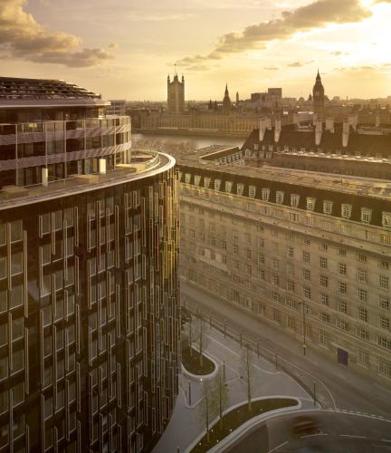 Park Plaza Westminster Bridge London, green hotel in London, United Kingdom