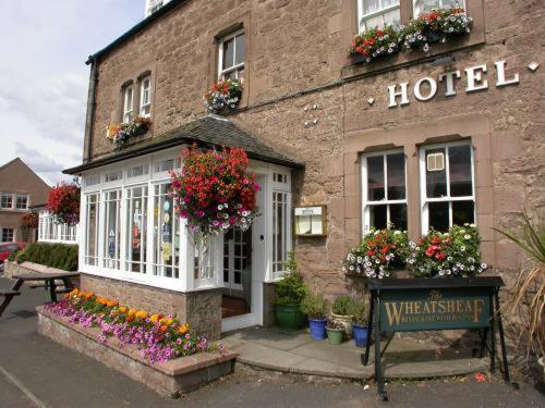 Photo of The Wheatsheaf Restaurant With Rooms Hotel Bed and Breakfast Accommodation in Swinton Borders