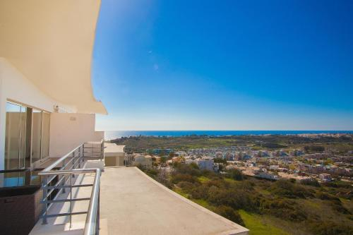 holidays algarve vacations Albufeira Sea View Penthouse in Albufeira