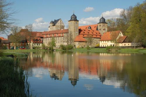 Kasteel-overnachting met je hond in Schloss Thurnau - Thurnau