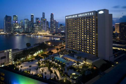 Mandarin Oriental, Singapore staycation