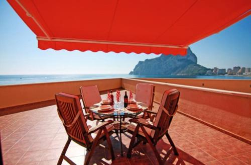 Apartment with garden in Calpe, Морайра
