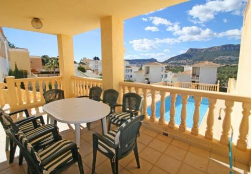 Apartment with views, terrace in Alicante, Casas de Torrat