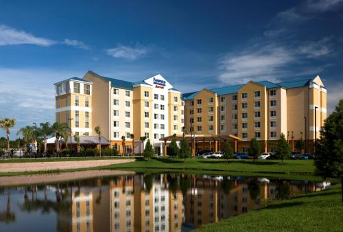 Fairfield Inn Suites by Marriott Orlando At SeaWorld impression