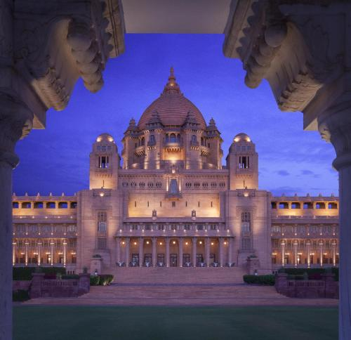 Umaid Bhawan Palace , Jodhpur  , Indien, picture 8