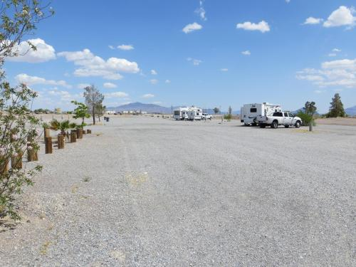 RV Parking at Longstreet Photo