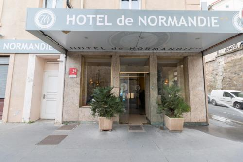 Hotel de Normandie staycation