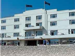 The Beach Hotel Commands Finest Seafront Location In Worthing And Is One Of Leading 3 Star Hotels Town Behind Elegant Facade Lies All