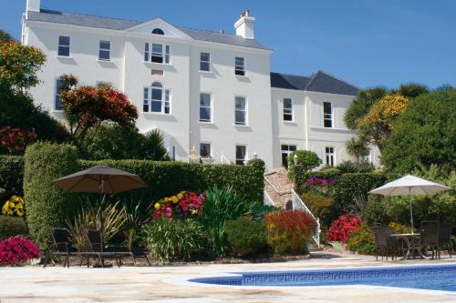 Photo of La Haule Manor Hotel Bed and Breakfast Accommodation in Saint Aubin Channel Islands