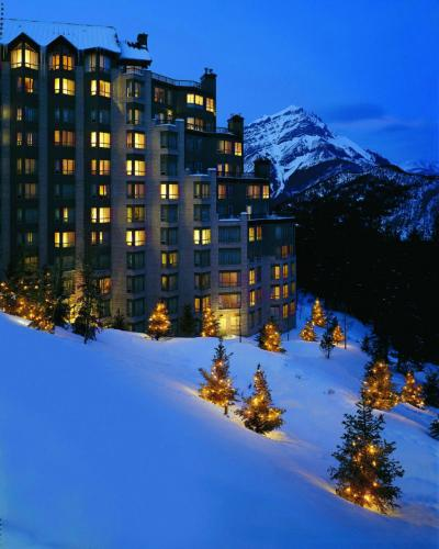 Rimrock Resort Hotel, green hotel in Banff, Canada