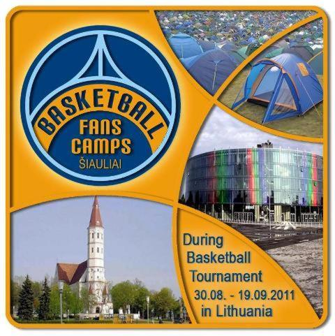 Basketball Fans Camp Siauliai Photo