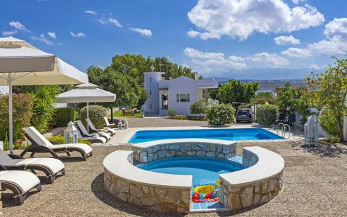 Villa Plumeria Flower in chania - 5 star hotel