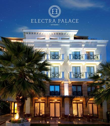 Electra Palace Athens, green hotel in Athens, Greece