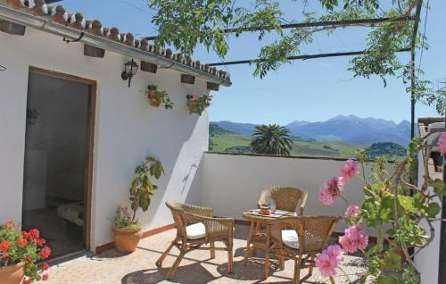 Two-Bedroom Holiday home Montecorto with a Fireplace 08, Montecorto