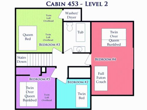 Cabin 453, Cabins at Garden City Photo