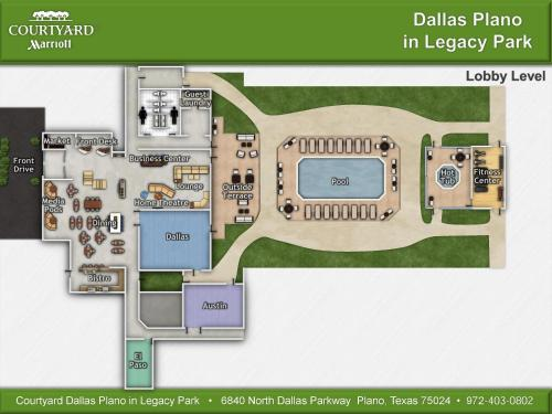 Courtyard Dallas Plano in Legacy Park Photo