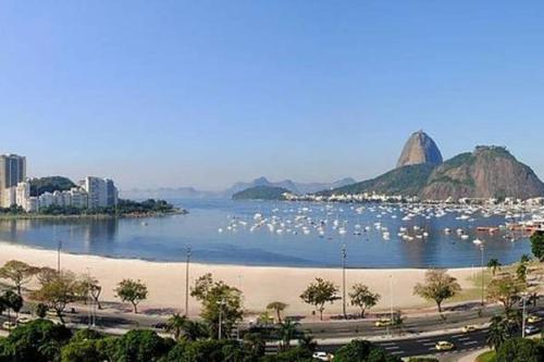 In front of Botafogo's Beach Photo