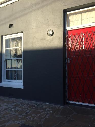 Cape Dutch Red Door Photo