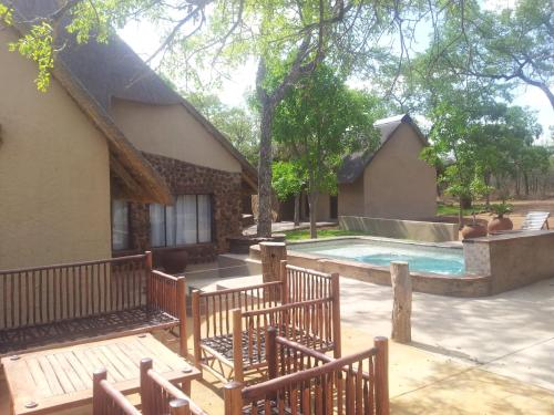 Bush Lodge In Private Game Reserve Photo
