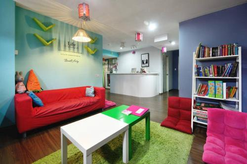 Burrow Hostel @ Smith - singapour -