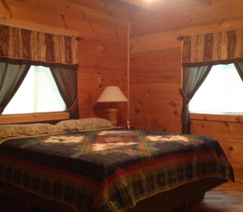 Log Cabin in Smoky Mountains Photo
