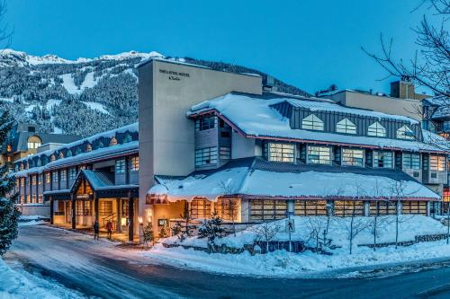 The Listel Hotel Whistler, green hotel in Whistler, Canada