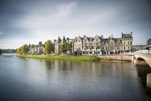 Columba Hotel Inverness by Compass Hospitality, green hotel in Inverness, United Kingdom