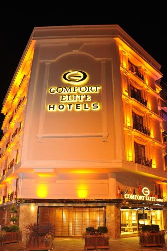 İstanbul Comfort Elite Hotels Old City harita