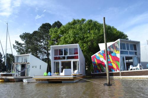 Floating Houses Buenos Aires Photo