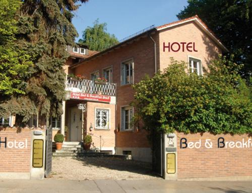 B&B Bredl in der Villa Ballestrem, Штраубинг