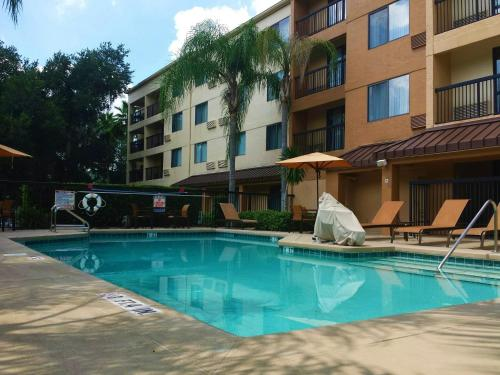 Courtyard By Marriott Orlando East Ucf Area Orlando Fl