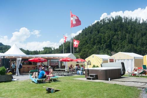 Hotel Backpackers Tented Village