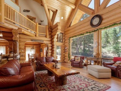 Number7 Gorgeous Shasta Pines Log Estate! New Spa! - Big Bear City, CA 92315
