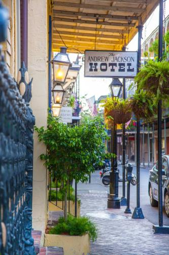 Andrew Jackson Hotel French Quarter Photo