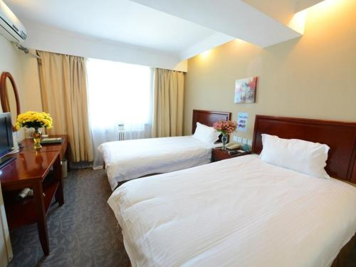 Hotel GreenTree Inn Shandong Yantai Airport Road Ludong University Business Hotel