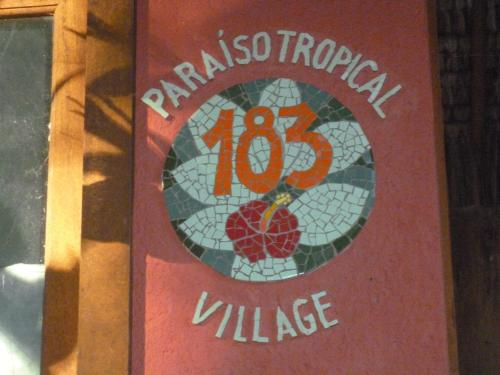 Tropical Village Flat Photo