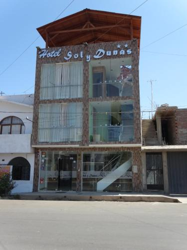 Hotel Sol y Dunas Photo