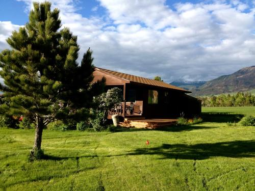 Pine Creek Cabin Livingston Montana Photo