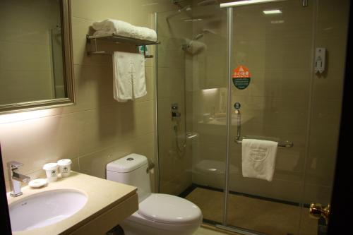 GreenTree Inn Shanghai South Railway Station Luoxiang Road Shell Hotel photo 25