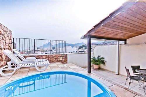 Penthouse duplex with Private Pool and View in Copacabana Photo