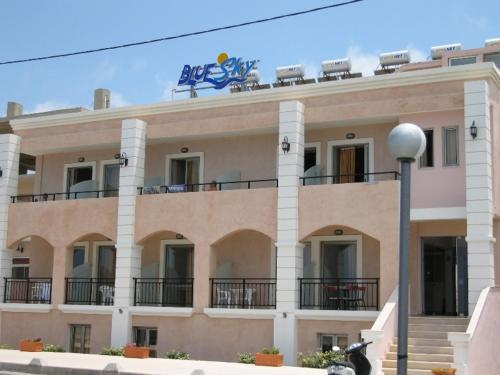 Blue Sky Hotel Apartments in rethymno - 3 star hotel