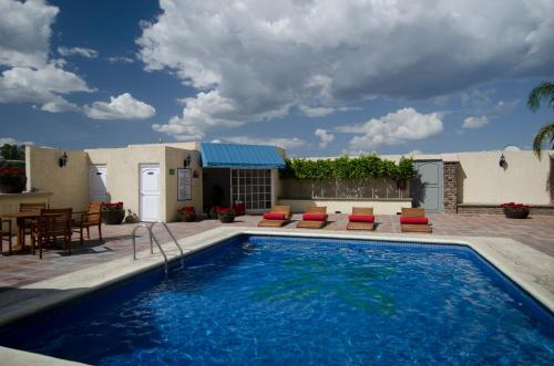Hotel Suites Mexico Plaza Campestre Photo