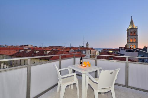 Orange Penthouse Studio - zadar - booking - hébergement