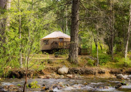 Yosemite Lakes River Yurt 25 Photo